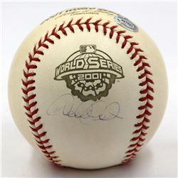 Derek Jeter Signed 2001 World Series Baseball (Steiner Hologram)