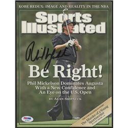 Phil Mickelson Signed 2006 Sports Illustrated Magazine (PSA Hologram)