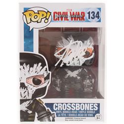 "Stan Lee Signed ""Captain America Civil War"" #134 Crossbones Funko Pop! Bobble-Head Figure (Lee Holog"