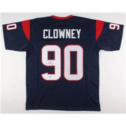 Jadeveon Clowney Signed Houston Texans Jersey (Beckett COA)