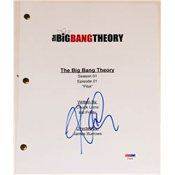 "Kaley Cuoco Signed ""The Big Bang Theory"" Pilot Script (PSA COA)"