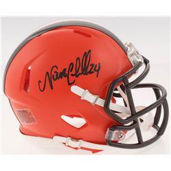 Nick Chubb Signed Cleveland Browns Speed Mini Helmet (Radtke COA)