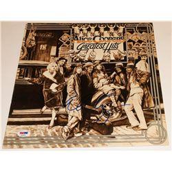 "Alice Cooper Signed ""Alice Cooper's Greatest Hits"" Vinyl Record Album Cover (PSA COA)"