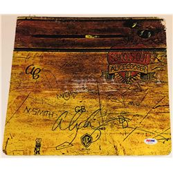 "Alice Cooper Signed ""School's Out"" Vinyl Album Cover (PSA COA)"