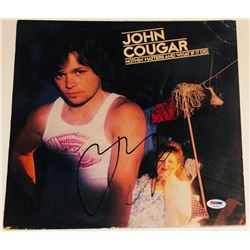 """John Mellencamp Signed """"Nothin' Matters and What If It Did"""" Vinyl Record Album (PSA COA)"""