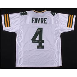 "Brett Favre Signed LE Green Bay Packers Jersey Inscribed ""#4 Retired""  ""7/18/15""  (Radtke COA)"