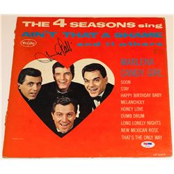 """Frankie Valli Signed """"Ain't That A Shame"""" Vinyl Record Album (PSA COA)"""