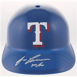 "Jose Canseco Signed Texas Rangers Full-Size Batting Helmet Inscribed ""40/40"" (JSA COA)"