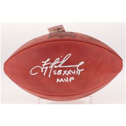 """Troy Aikman Signed Official Super Bowl XXVII Game Ball Inscribed """"SB XXVII MVP"""" (Aikman Hologram)"""