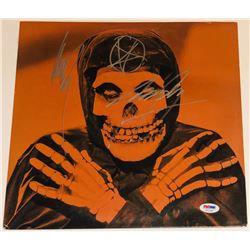 "Glenn Danzig  Jerry Only Signed Misfits ""The Crimson Ghost"" Vinyl Record Album (PSA COA)"