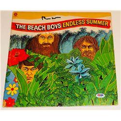 "Brian Wilson Signed ""Endless Summer"" Vinyl Album Cover (PSA LOA)"