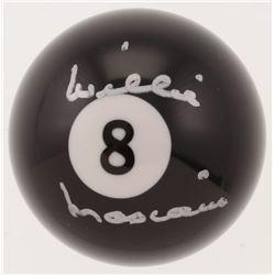 Willie Mosconi Signed #8 Pool Ball (Beckett COA)