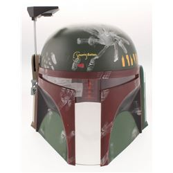 "Jeremy Bulloch Signed Star Wars ""Boba Fett"" Full-Size Helmet (JSA COA)"