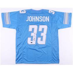 Kerryon Johnson Signed Detroit Lions Jersey (Radtke COA)