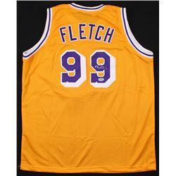 "Chevy Chase Signed ""Fletch"" Jersey (PSA COA)"