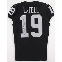 Brandon LaFell Signed Oakland Raiders Game-Issued Nike Jersey (JSA COA  PSA Hologram)