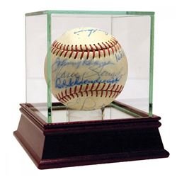 MLB Managers Baseball Signed by (20) with Casey Stengel, Yogi Berra, Red Shoendienst, Al Lopez  High