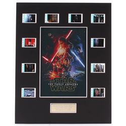 """Star Wars: Episode VII – The Force Awakens"" 8x10 Custom Matted Original Film Cell Display"