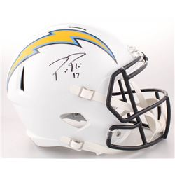 Philip Rivers Signed Los Angeles Chargers Full-Size Speed Helmet (Beckett COA)