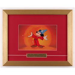 "Mickey Mouse ""The Sorcerer's Apprentice"" 13x16 Custom Framed Animation Cel Display"