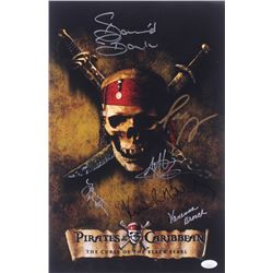 """Pirates of the Caribbean"" 11x17 Photo Signed By (6) with Martin Klebba, David Bailie, Lee Arenberg,"