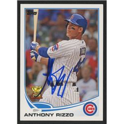 Anthony Rizzo Signed 2013 Topps #44 (PSA Hologram)