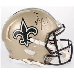 Michael Thomas Signed New Orleans Saints Full-Size Authentic On-Field Speed Helmet (JSA COA)