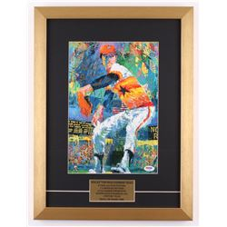 "Nolan Ryan Signed Houston Astros 15x20 Custom Framed LeRoy Neiman Print Inscribed ""Don't Mess With T"