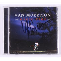 "Van Morrison Signed ""Magic Time"" CD Record Album (JSA COA)"