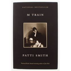 "Patti Smith Signed ""M Train"" Paperback Book (JSA COA)"