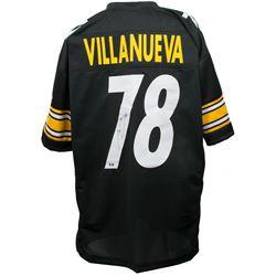 Alejandro Villanueva Signed Pittsburgh Steelers Jersey (SI COA)