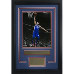 Ben Simmons Philidelphia 76ers 11x14 Custom Framed Photo Display with Laser Engraved Autograph