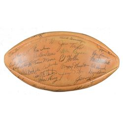 """1963 Packers """"The Duke"""" Official NFL Game Ball Team-Signed by (45) WIth Bart Starr, Vince Lombardi,"""