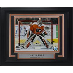 Carter Hart Philadelphia Flyers 11x14 Custom Framed Photo Display