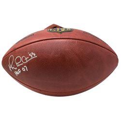 """Michael Irvin Signed """"The Duke"""" NFL Game Ball Inscribed """"HOF 07"""" (JSA COA)"""