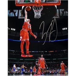 Zach LaVine Signed Chicago Bulls 16x20 Photo (Beckett COA)