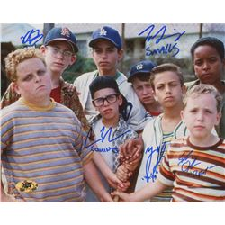 """""""The Sandlot"""" Signed 8x10 Photo Cast-Signed by (5) With Tom Guiry, Marty York, Shane Obedzinski, Vic"""