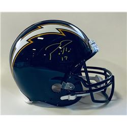 Philip Rivers Signed Los Angeles Chargers Full-Size Authentic On-Field Helmet (Beckett COA)