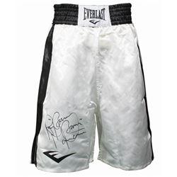 "Ray ""Boom Boom"" Mancini Signed Boxing Trunks (JSA COA)"