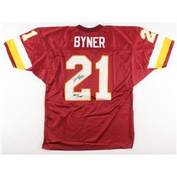 "Earnest Byner Signed Washington Redskins Jersey Inscribed ""SB XXVI Champs"" (Beckett COA)"