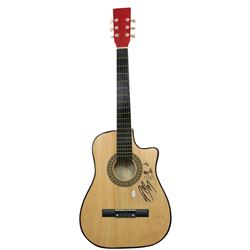 Post Malone Signed Full-Size Cort Acoustic Guitar with Hand-Drawn Sketch (JSA COA)