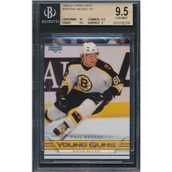 2006-07 Upper Deck #204 Phil Kessel YG RC (BGS 9.5)