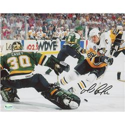 Mario Lemieux Signed Pittsburgh Penguins 8x10 Photo (ReichPM COA)