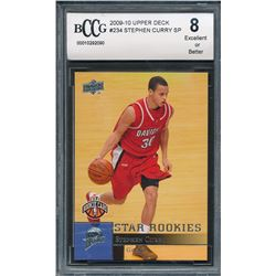 2009-10 Upper Deck #234 Stephen Curry SP RC (BCCG 8)