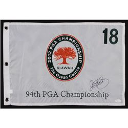 Rory McIlroy Signed 2012 94th PGA Championship-The Ocean Course Golf Pin Flag (JSA COA)