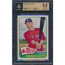 2014 Topps Heritage #H558 Mookie Betts RC (BGS 9.5)