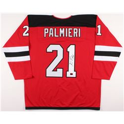 Kyle Palmieri Signed New Jersey Devils Jersey (Palmieri COA)