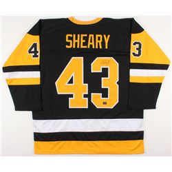 Conor Sheary Signed Pittsburgh Penguins Jersey (Sheary COA)