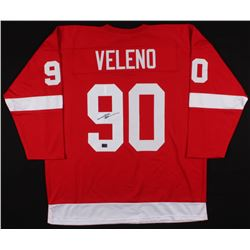 Joe Veleno Signed Detroit Red Wings Jersey (Veleno COA)