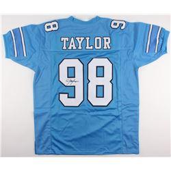 Lawrence Taylor Signed North Carolina Tar Heels Jersey (JSA COA)